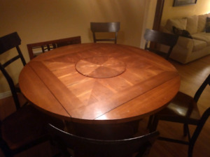 7 piece dinning room table set