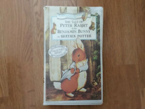 """Collectible VHS """"The Tale of Peter Rabbit & Benjamin Bunny"""""""