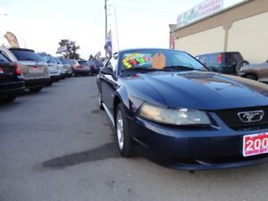 2001 Ford Mustang Coupe (2 door) E-TESTED & CERT