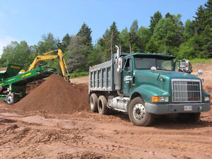 SCREENED TOPSOIL, BARK MULCH, DELIVERY