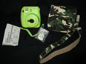 Instax Mini 9 Polaroid Camera+Case(will be pawned shortly)