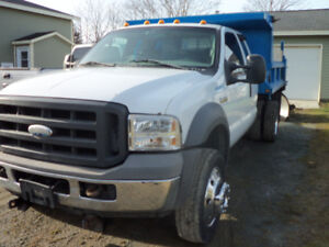 2005 Ford 550 Super Duty, Ext cab 4x4.