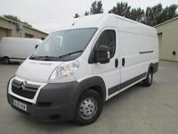 2013 Citroen Relay 2.2HDi 130 Heavy 35 L4H2 elec/w elec/m cd stereo 1 owner