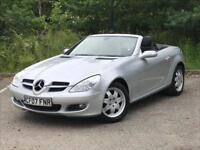 Mercedes-Benz SLK 1.8 200 Kompressor Edition 10 2dr PETROL MANUAL 2007/07