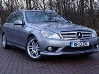 2010 10 MERCEDES-BENZ C CLASS 1.8 C180 CGI BLUEEFFICIENCY SPORT 5D 156 BHP