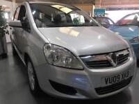 2009 09 Vauxhall Zafira 1.6 Life 7 Seater