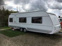 2008 tabbert Vivaldi German spec caravan air conditioning wind out awning