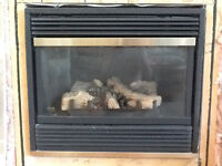 Majestic Vermont Castings Gas Fireplace with fan