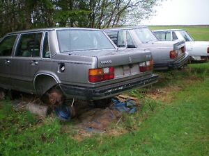1986 Volvo 740 Automatic for Parts