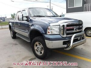 2005 FORD F350SD  CREW CAB 4WD