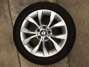 BMW TIRES AND RIMS 225 50 17
