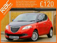 2013 Chrysler Ypsilon 1.3 Multijet Turbo Diesel SE 5 Door 5 Speed Bluetooth 360