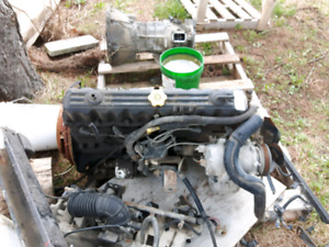 1996 Jeep 4.0 ho motor and manual transmission