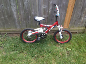 Barely Used Boys 16 inch Bike