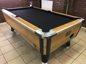 Reduced: Coin Operated Pool Table