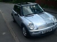Mini Cooper moted taxed insured available now