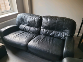 2&3 DFS leather sofas