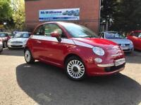 2013 Fiat 500 1.2 Lounge Hatchback 3dr Petrol Manual (s/s) (113 g/km, 69