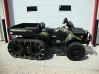 2007 Polaris Sportsman 500 6x6 with tracks