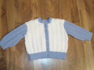 hand knitted sweater new