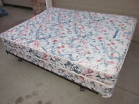 Queen Mattress, Boxspring and Frame  - Can Deliver