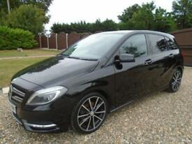 HUGE SPEC + NEW SHAPE 2013 Mercedes B CLASS B180 1.8 DIESEL * Sport * 1 OWNER *
