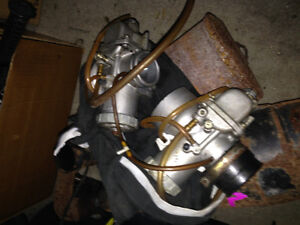 Skidoo prs exhaust and carbs with cables Kitchener / Waterloo Kitchener Area image 2