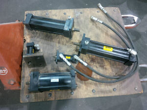 Various hydraulic and pneumatic cylinders