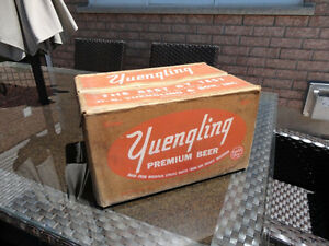 Vintage Rare 1959 Yuengling Premium Beer Pale Dry Wax Beer Case Kitchener / Waterloo Kitchener Area image 1