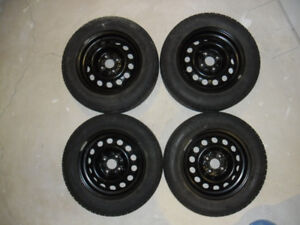 4 winter tires and rims for honda civic