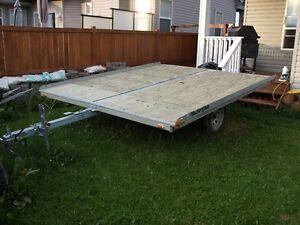 Side by side ATV or Snow Machine Tilt deck trailer