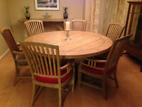 Beautiful one of a kind dining room set