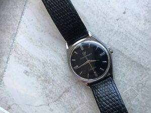 VERY NICE VINTAGE GIGARD PERREGUAX GYROMATIC MEN'S WATCH