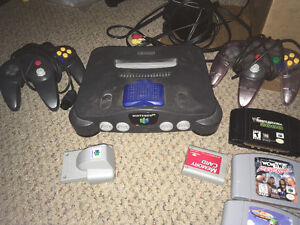N64 nintendo 64 console, accessories, games, come see!!!