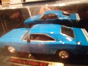 1968 Dodge Charger RT Blue - Dimension 4 Hot Pursuit Collect1:43 Sarnia Sarnia Area image 9