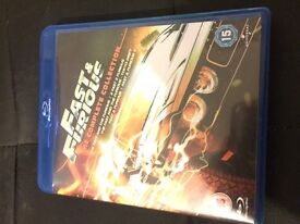 The fast and furious collection blu-ray