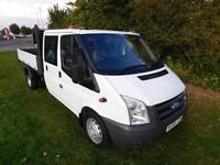 Ford Transit 350 LWB DOUBLE CABNO VAT TO PAY