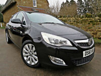 2011 VAUXHALL ASTRA 1.6i 16v VVT ( 115ps ) SE AUTO 5 DOOR. LOW MILEAGE !!