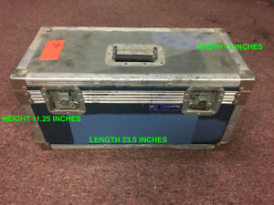 USED SMALL CASE WITH PADDED DIVIDERS, CHEAP CHEAP SALE!!
