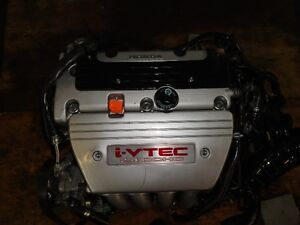 JDM HONDA TSX K24A3 2.4L VTEC ENGINE 6SPEED TRANSMISSION