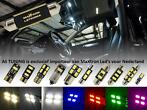 Renault Interieur LED verlichting complete sets MaXtron®
