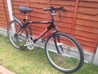 "Boys bike 26"" wheels black colour"