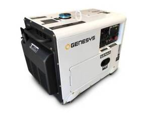 6KVA Diesel Generator Silenced Canopy 240V Laverton North Wyndham Area Preview