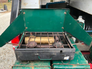 Vintage Coleman cookstoves -4M models