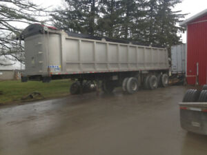 1999 Custom Triaxle End Dump Trailer For Sale