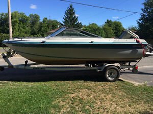 16.6' Bowrider with 115HP outboard $2700