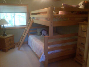 Crate Design Bunk Beds/Trundle/Ladder