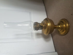 Aladdin M11 oil lamp - antique