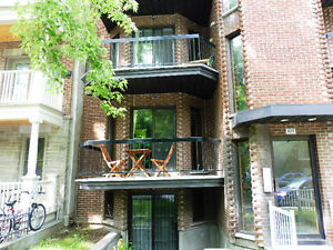 Appartement 4 1/2 – Plateau Mont-royal, 95m2, 1400$