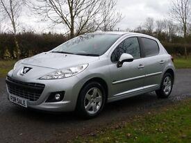 Peugeot 207 1.4 8V 75 SPORTIUM (silver) 2012